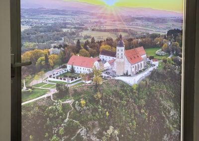 Kirche auf dem Bogenberg