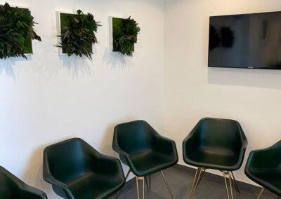 Wartezimmer beim Zahnarzt in Bogen